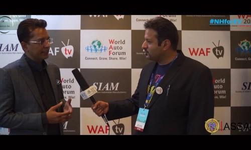 Abhijeet Sinha, Director EODB & ASSAR in conversation with Anuj Guglani CEO World Auto Forum